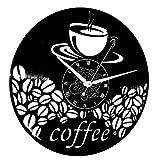 Instant Karma Clocks Orologio in Vinile da Parete LP 33 Giri Idea Regalo Vintage Handmade Caffe caffè Bar Pasticceria TORREFAZIONE