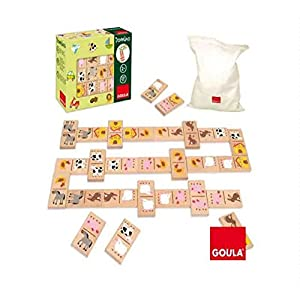 Goula Domino Granja 28 Piezas Madera