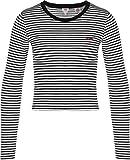 Levis Damen Sweatshirt Graphic RAW Cut Crew 56340-0004 Schwarz, Größe:XS