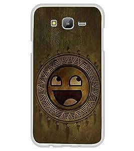Fuson Designer Back Case Cover for Samsung Galaxy J5 (2015) :: Samsung Galaxy J5 Duos (2015 Model) :: Samsung Galaxy J5 J500F :: Samsung Galaxy J5 J500Fn J500G J500Y J500M (Smiley Smiling Smiley Circles multi Circles Smiling)
