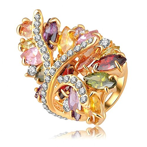 Aooaz-Free-Engraving-Womens-Ring-Alloy-Ring-Multi-Crystal-Gold-Plated-Flower-Wedding-Ring-Promise-Ring