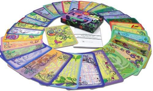 Schreibwandel Reim-Affirmationskartenset mit 32 zauberhaften Reim-Affirmationskarten und einem Anleitungsheft in einer wunderschönen Schachtel mit Magnetverschluss (Intuition-geschenk-set)