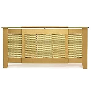 circle adjustable radiator cover cabinet shelf mdf amazon. Black Bedroom Furniture Sets. Home Design Ideas