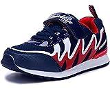 WUIWUIYU Chaussure de Sports Bsakets pour Garçons et Filles-bleu foncé 31