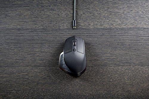Logitech MX Master kabellose Maus für Windows/Mac mit Verbindungsmöglichkeiten (Bluetooth, Unifying) - 9