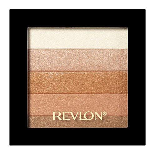 Make-up-palette Bronze (Revlon Highlighting Palette Bronze Glow 30, 1er Pack (1 x 8 g))