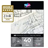 PABLO Transparentpapier, 90 g/m², 40 Blatt A3