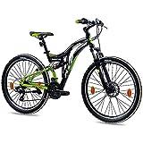 KCP 26 Zoll Mountainbike Fahrrad - MTB Fairbanks schwarz grün-