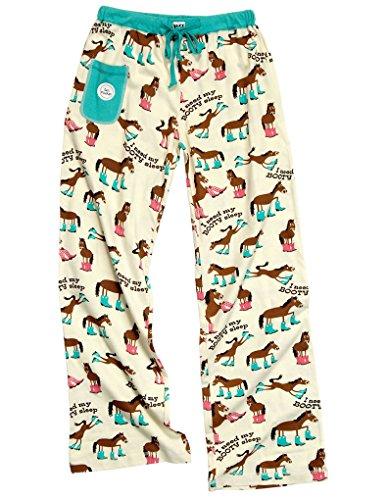 Lazy Un Monde Animal-Cheval Booty mis'en sommeil Pantalon pour enfant blue