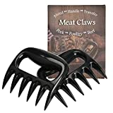 FungLam Pulled Pork Artigli per Carne, forca per BBQ, 2 Pezzi Meat Claws Shredder per Barbecue, Griglie Arricciate per Carne Delicata