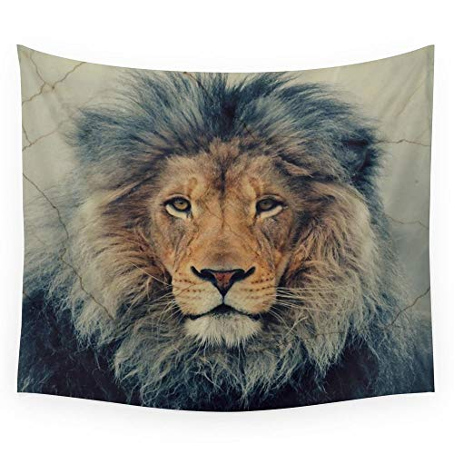 Tapestry Fabric Wall Hanging Tapestry Decor Polyester Curtains Plus Long Table Cover 130 * 150CM ()