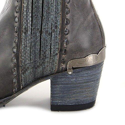Sendra Boots Stiefel EVITA Damen Fashion Stiefelette Antracita 7mHgBpQ