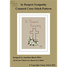 In Deepest Sympathy Cross Stitch Pattern