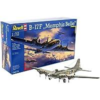Revell Revell-B-17F Boeing B-17F Memphis Belle, Kit de Modelo, Escala 1:72 (4279) (04279)