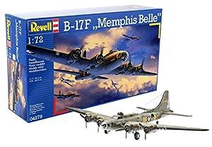 Revell Revell-B-17F Boeing B-17F Memphis Belle, Kit de Modelo, Escala 1:72 (4279) (04279), Multicolor