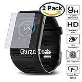 [2 Pack] Temperato Pellicola Protettiva Per Garmin Vivoactive HR Smart Watch Guran® Ultra Sottile Screen Protector in Vetro Temperato