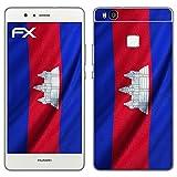 Design Skin Huawei P9 Lite'drapeau de Cambodge' Autocollant Sticker