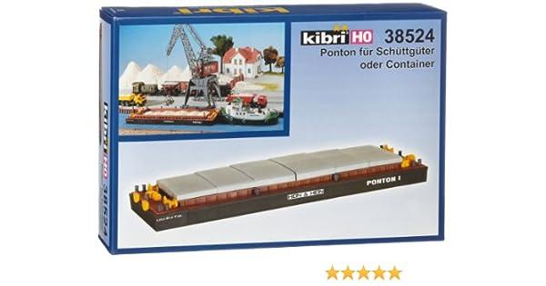 H0 Leichter für Schüttgüter oder Container Modell Bausatz 1:87 Kibri 38522