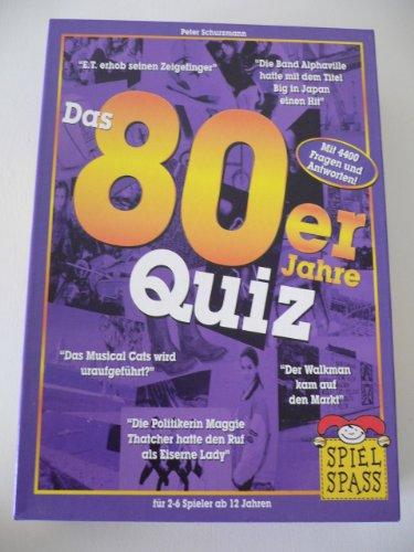 Spiel Spass 50917/5 - 80er Jahre Quiz