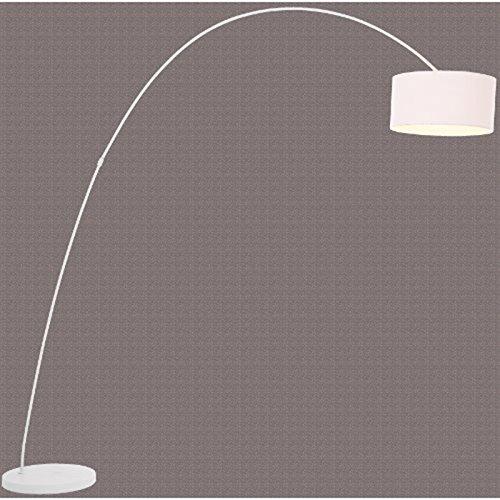 DESIGN LAMPADA AD ARCO | bianco, metallo, 200 x 160 cm | - Idee ...
