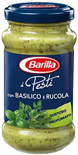 Barilla grünes Pesto Basilico e Rucola – 1 Glas (1x190g)