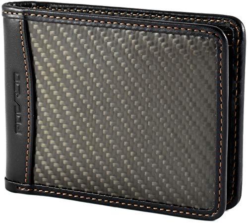 Portemonnaie für Männer aus Leder & Carbon - POCARDO Exclusive - Herren Geldbörse (mit Münzfach)