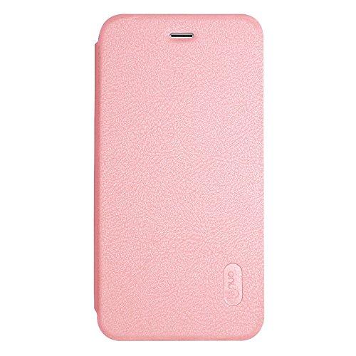 GHC Cases & Covers, Für iPhone 7 Plus PU + PC Litchi Textur Horizontale Flip Leder Tasche mit Card Slots ( Color : Gold ) Rose gold