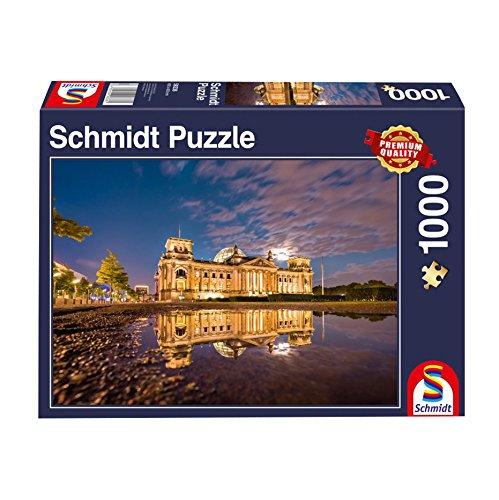 Schmidt Spiele Puzzle 58336 - Reichstag Berlin, 1.000 Teile Puzzle