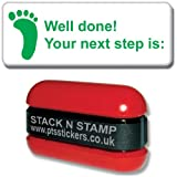 """Primary Teaching Services SZ39 """"Well done! Your next step is..."""" School Marking Stamper"""