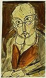 Das Museum Outlet–Georges Rouault–Mann mit Brille–Leinwanddruck Online kaufen (152,4x 203,2cm)