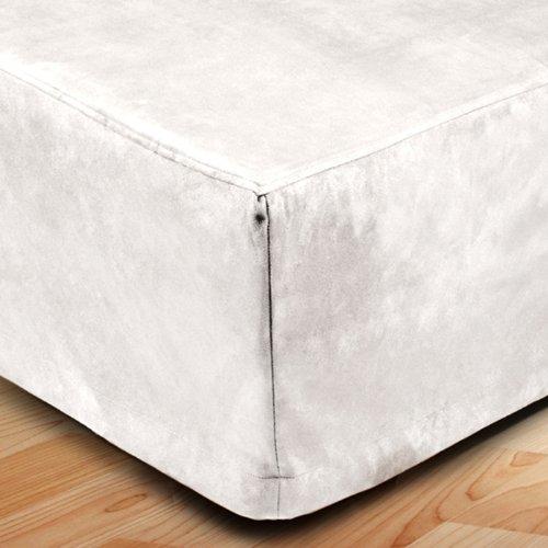 Madura Cache sommier MONTANA Blanc 160x200 cm