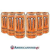 AMERICANFOOD4U - Monster ULTRA SUNRISE (473 ml.) [6er Pack]