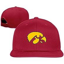 Hmkolo Iowa Hawkeyes cotone piatto bill cappello da baseball snapback unisex 629020fb0f3e