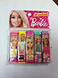 #6: ArtSmart Barbie Erasers (5 pc - 1 set)