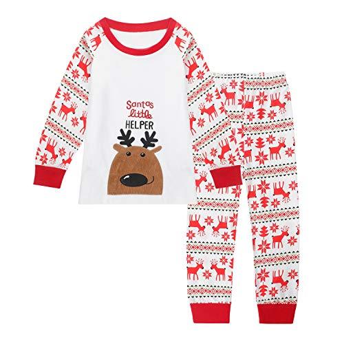 Qtake Fashion -  Pigiama Due Pezzi - Ragazzo 1-Christmas 9-10 Anni