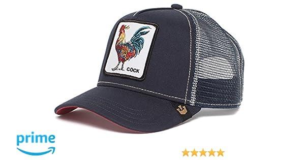 c57f20a4 Mens Animal Farm Baseball Trucker Cap Baseball Cap - Blue -: Amazon.co.uk:  Clothing