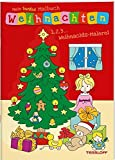 Mein buntes Malbuch Weihnachten: 1, 2, 3 - Weihnachts-Malerei (Malbücher und -blöcke)
