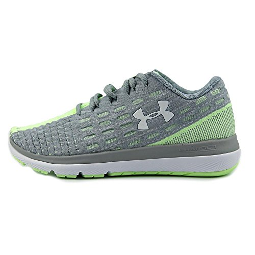 Under Armour Threadborne Slingflex Laufschuh Damen grau / lime