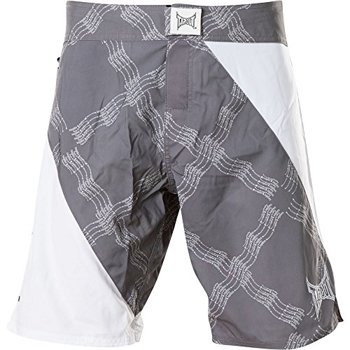 Tapout Shorts Upper Division Grau/Weiß, 32