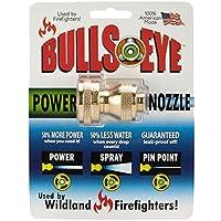 BULLSEYE ENTERPRISES - Fireman's Power Hose Nozzle, Brass