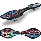 Streetsurfing Waveboard The Wave, Quake Red, 500010
