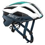 Scott Arx Plus Rennrad Fahrrad Helm weiß/blau 2018: Größe: M (55-59cm)