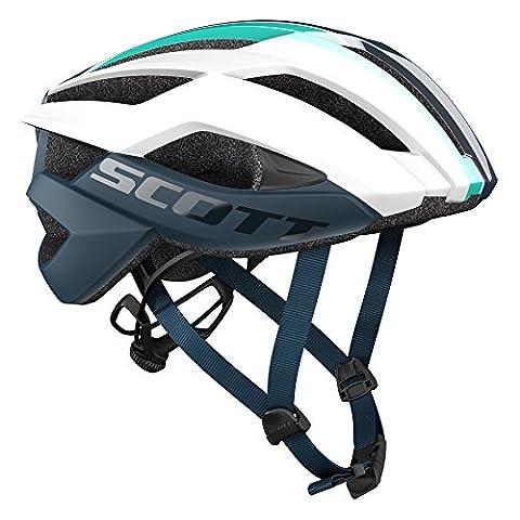 Scott Helmet Arx Plus (CE) white/ensign blue - M
