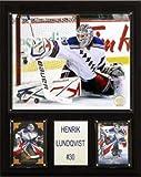 C & I Collectables NHL Henrik Lundquist New York Rangers Spieler Plaque