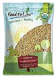 Food To Live Zertifizierte Organische Perle Gerste (Koscher, Sprießend, nicht-GVO, Masse) (24 Pfund)