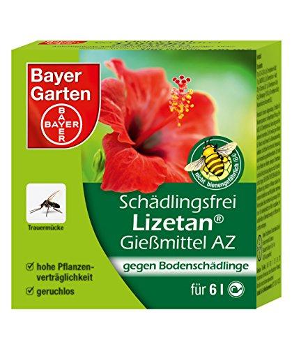 Bayer Garten 84447579 Schädlingsfrei Lizetan® Gießmittel gegen Bodenschädlinge AZ 30ml