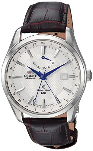 Orient Men's Analog Japanese-Automatic Watch with Leather Strap FDJ05003W0
