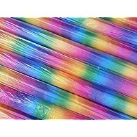 Alquiler de tela (por metro) Organza 150 cm, ancho de colores del arco iris de tela de ORGANZA de colores IDEAL para bodas vestido de fiesta de la ...
