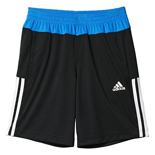 adidas Jungen Shorts YB G GU KN, Schwarz/Blau/Weiβ, 176, 4055344430484