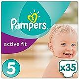 Pampers Premium Protection Active Fit Windeln, Gr. 5 Junior (11-23 kg), 1er Pack (1 x 35 Stück)